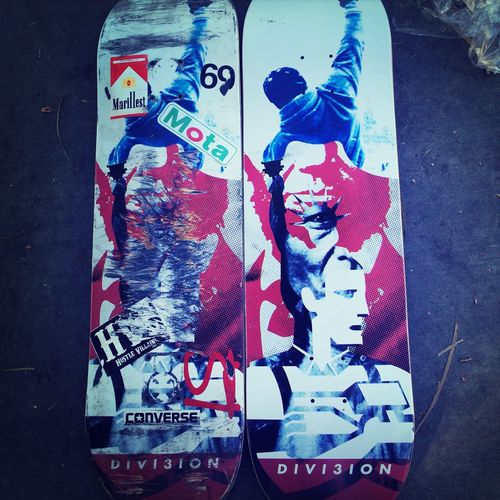 Out with the old and in with the new Skateboarding Divi3ion Awsome Cool