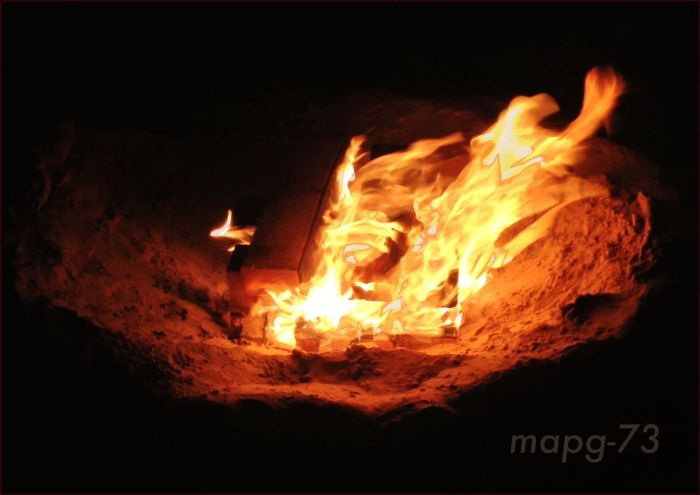 Sant Joan Night Hipnotic Fire Full Colour