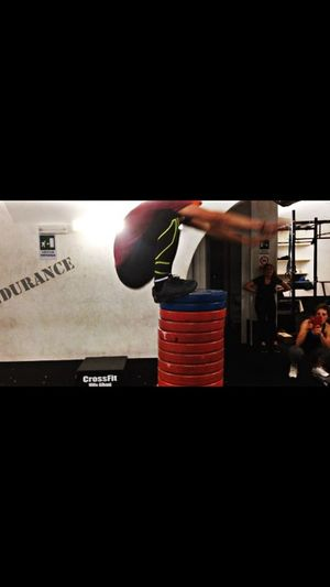 New record! 1.45mt Highjump Gymnastics Boxjumps CFVA Crossfit