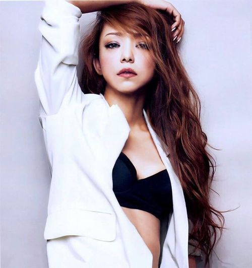 Namie Amuro Queen👑 I Love Her❤ Fashion Model Japanese  Women Heart ❤