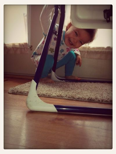 Peek A Boo Mommy!!