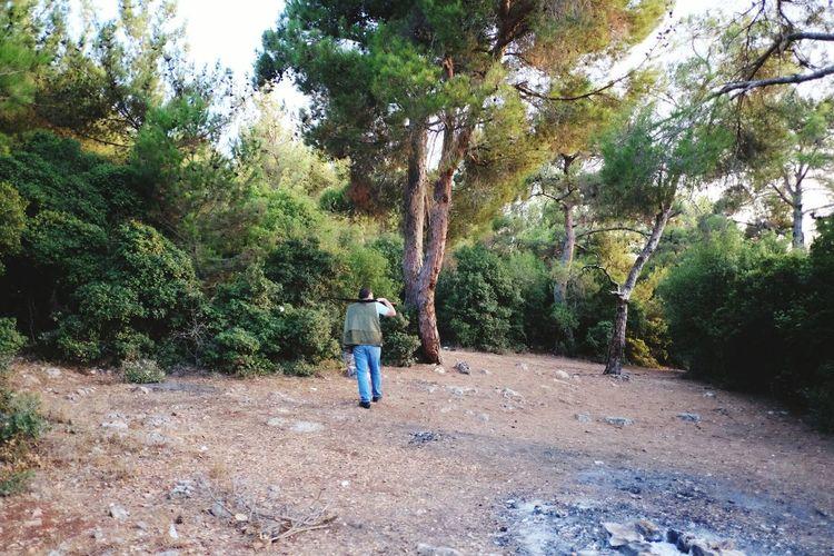 Non-urban Scene Lebanon Middle East Person Gun Nature Forest