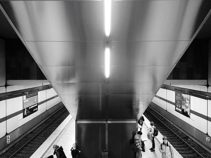 Subway Night