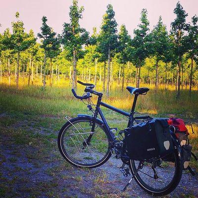 Sometimes I want to ride my good old Santos Travelmaster ❤ Biketowork Cycling Commuting Biketouring Fahrrad Fahrradfahren ShimanoXT Sport Fitness Fitfornix Instamood 😚 😚 😚 Picoftheday Goodmorning