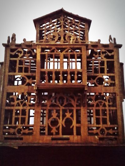 Architecture Built Structure No People Cage EyeEmSelect EyeEmNewHere Samsungnote3 Antique Woodenframe Wooden Fragility Handcraft Handmade Art Oldie  EyeEm Selects