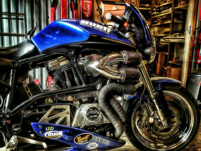 Engine with a motorcycleMy Best Photo 2015 Motorcycle Buell MC Bike Sport V-twin Engine Motor Beauty Beast Power Garage