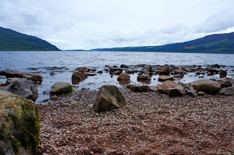 Loch Ness Beach Coast Day Europe Highlands Holidays Lake Loch  Loch Ness Nature Ness No People Outdoors Scenics Scotland Sea Shore Sightseeing Sky Tranquil Scene Traveling Uk