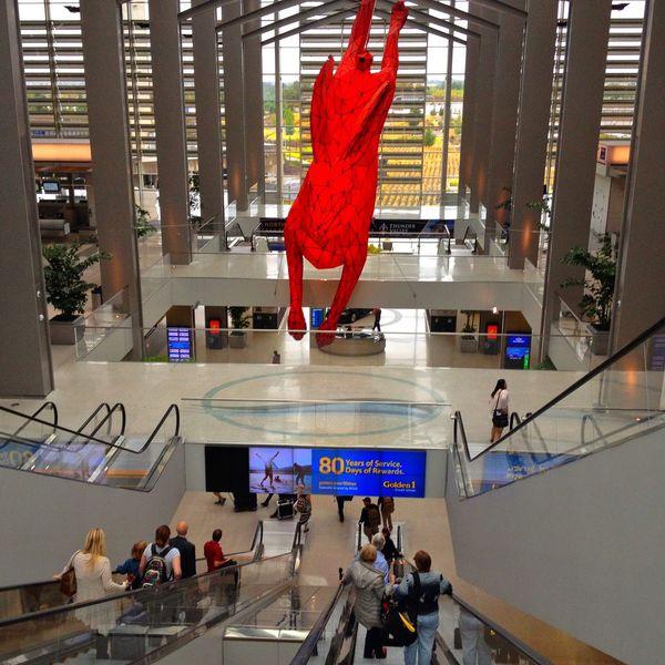 Interior Views Sacramento Airport