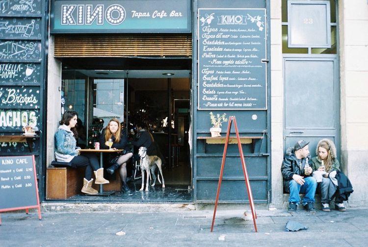 Kodak Portra 35mm Film Film Barcelona Everyday Lives Streetphotography Enjoying Life Hanging Out Everyday Joy