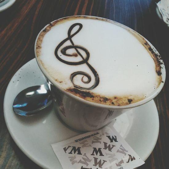 Piacenza Break Cappuccino Disegno Music After Service Jw Delicious Food