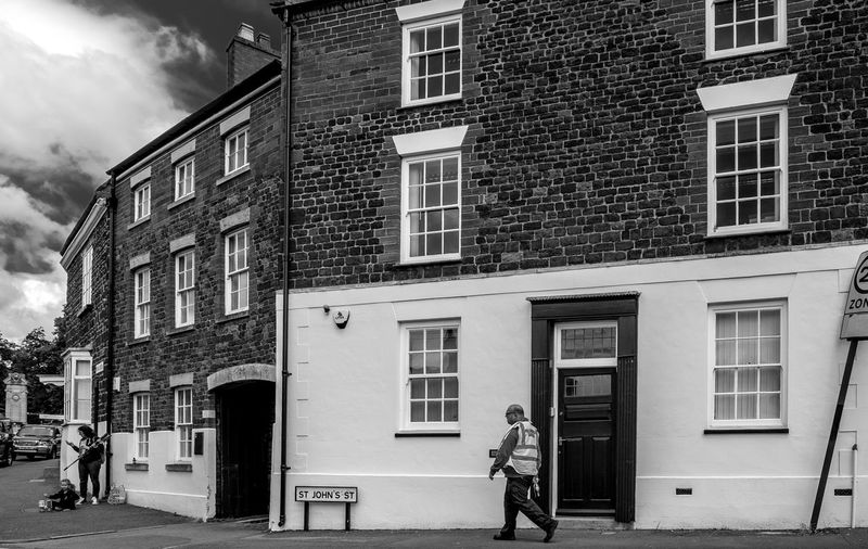 Corner of Broad Green and Saint John's Street, Wellingborough, Northamptonshire Architecture Black And White FUJIFILM X-T10 Monochrome Wellingborough Northamptonshire