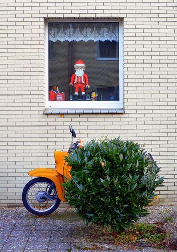 Santa Schwalbe Simson Playmobil Mopeds Cologne , Köln,