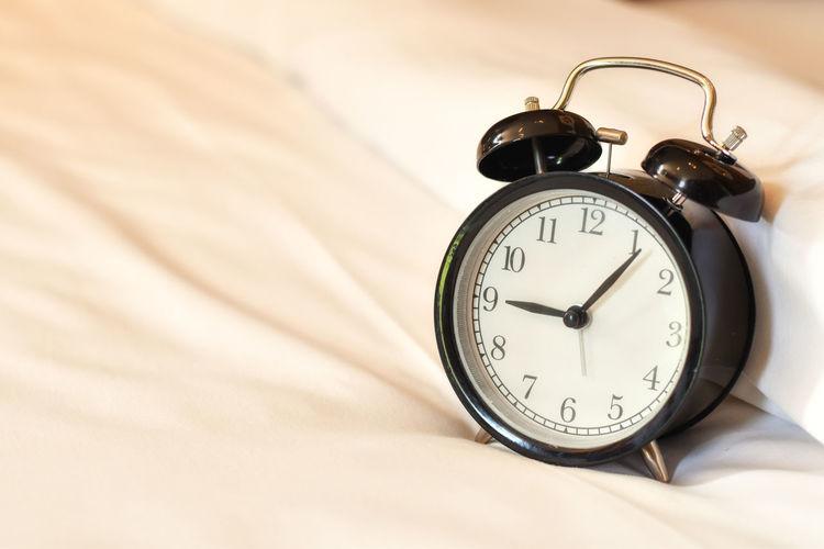 Alarm clock on