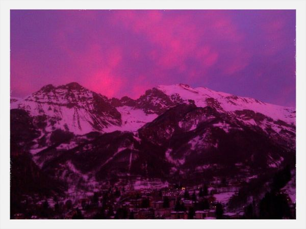 Sunset Skyline Tramonto Nofilter Limone