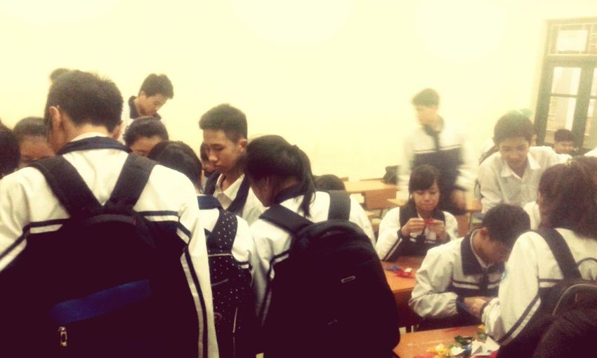My class. My secound family. My friend. My brothers and my sisters