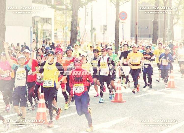 これ僕です。 Spiderman スパイダーマン 大阪マラソン