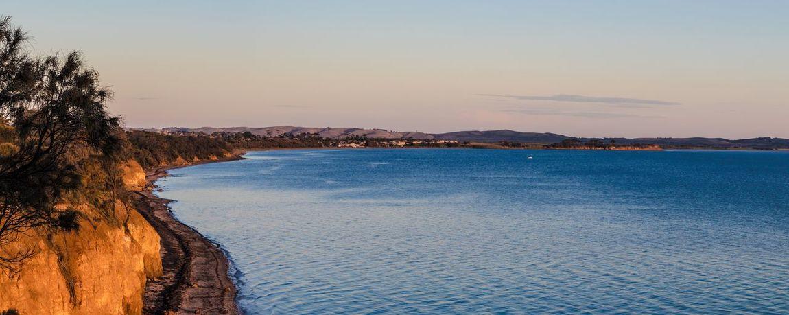 bayside panorama Bay Bayside Beach Blue Calm Calm Water Panorama Water