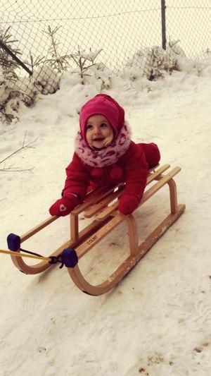 Les premières neiges de Mila