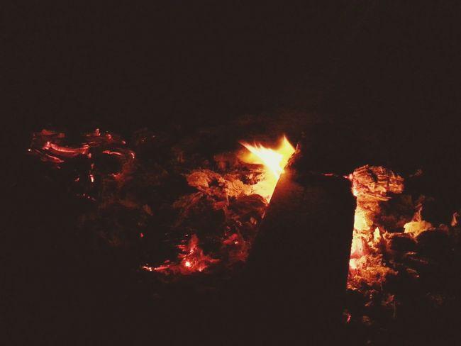 Camp Fire Night Bonfire Night