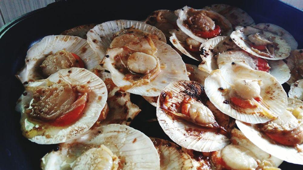 Scallop galore Foodporn Foodphotography OpenEdit Eyeemphotography Eyeem Philippines Seafood Goodfoodgoodlife Feelgoodfood