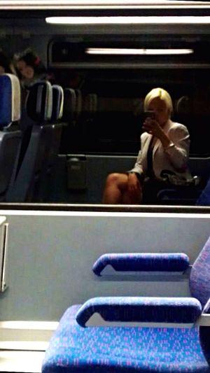 My Commute Train Bytrain Underground Ubahn Sbahn Deutsche Bahn Mobile Conversations