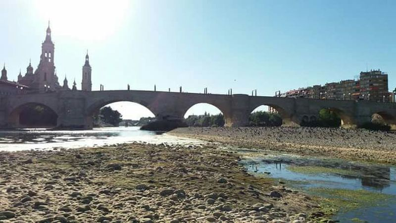 Sèquia en Aragón Aragon, Spain Puente Arcos Zaragoza Zaragoza City Ebro Ebro River River Rio Rio Ebro España🇪🇸 España Espagne Espana-Spain Spain ✈️🇪🇸 SPAIN Spain♥