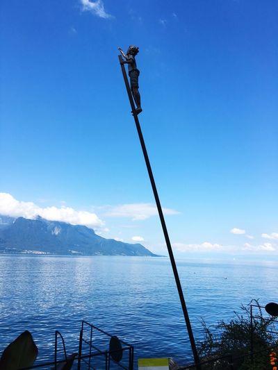 Sky Water Blue