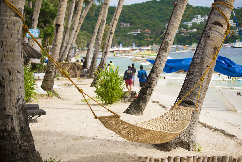 Eyeem Philippines Adult Beach Beach Front Boracay Day Hammock Hammock Time Men Nature One Person Only Men Outdoors People Real People Tree Tree Trunk Water Breathing Space Been There. An Eye For Travel