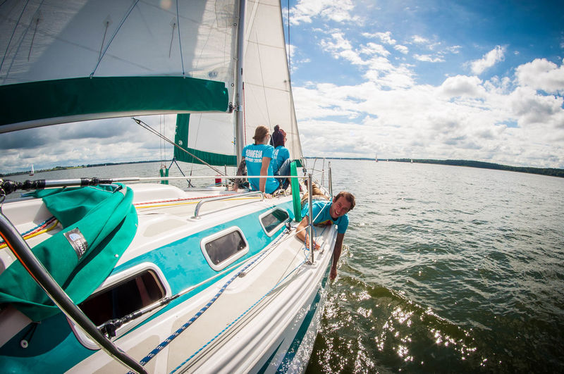 Sailing Travellife Lazzyday Perspectives Keep Calm Poland Day Off Sailing Travel Photography Nature Creative Boat Boat Trip Mazury Beautiful ViewSailingboats Backgrounds Sailing Away Sailing Yacht Yacht Boat Boat Life Sailor Happy People Yachting