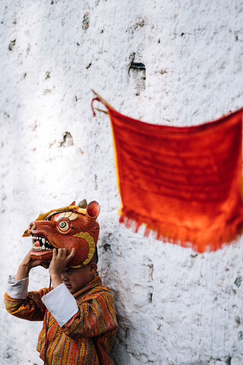 Bhutan, the world's only carbon negative country is also a traveler's paradise- from the mountains to the serene monasteries, it is culturally and naturally gifted. The Traveler - 2018 EyeEm Awards Travel Travel Photography Bhutan Color Monks Travel Destinations My Best Travel Photo