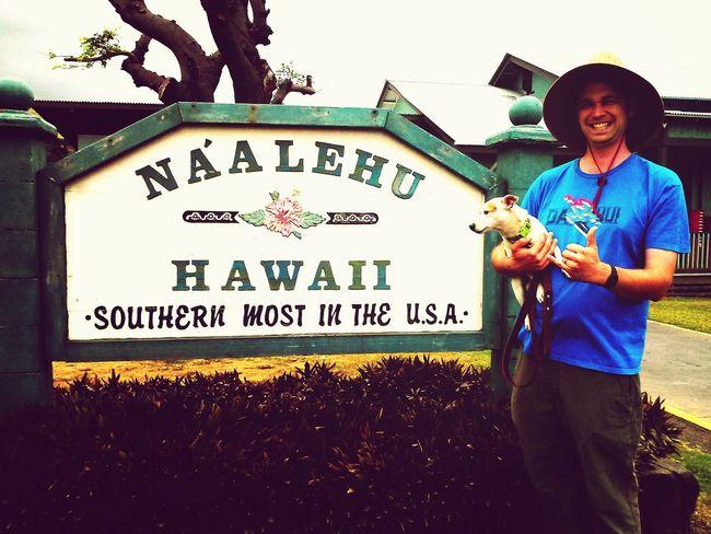 Naalehu MySweetheart and our Jackrussell Hawaii Bornandraised Hamradio Big Island Love ♥ Hawaii Life USA