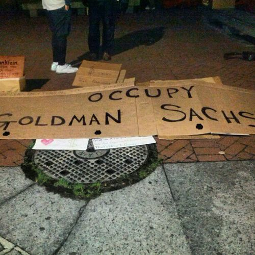 Occupy Goldmansachs Lordblankfein Goldmansucks ows