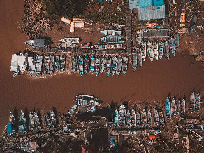 Architecture Built Structure Building Exterior Large Group Of Objects High Angle View Business Nature Building Water Day No People Nautical Vessel Market Stall Tourism Market Transportation Travel Travel Destinations Abundance Outdoors Fishing Industry
