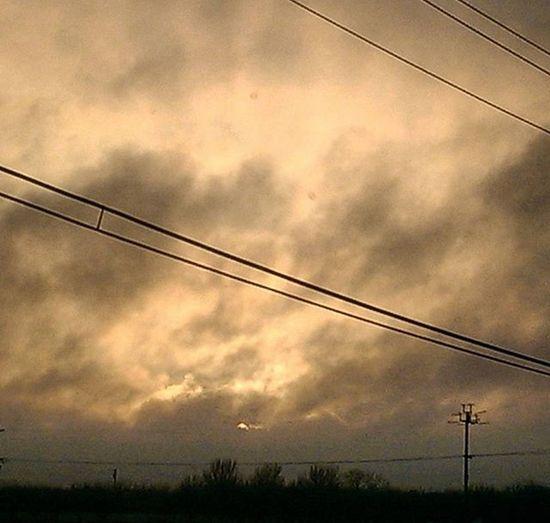 Stupid power lines! SkyPics Cloudpics Stormclouds Breakingthrough  Beautiful Norcal Hwy99 Drivingpics Hatingthepowerlines