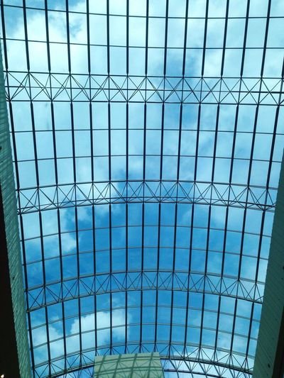No People Sky Mall Blue Blue Sky Open Your Eyes Window Big Window Big Mall Nice View Nice Day Building Exterior Nice Building