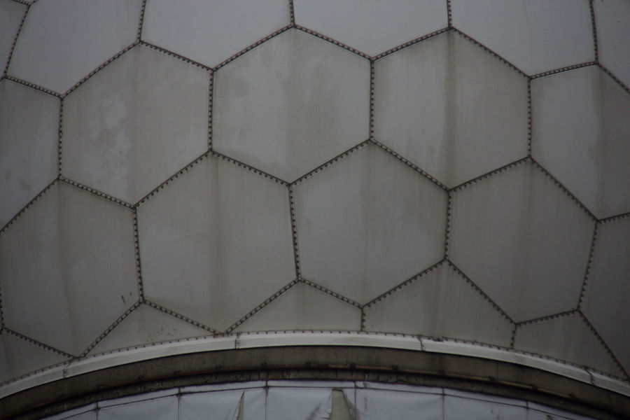 Abhörstation Teufelsberg Cold War Design Detail Dome Full Frame Geometry NSA Pattern Spying Symmetry Wall Wall - Building Feature