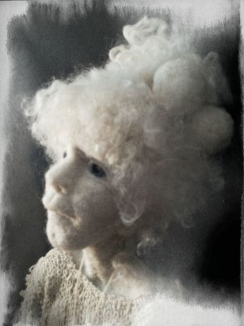lvory Handmade By Me Artdolls Portrait Hello World