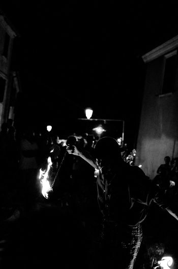 Monochrome Blackandwhite Black & White Biancoenero Artist Fire Light And Shadow Streetphoto_bw Nightphotography Dancing