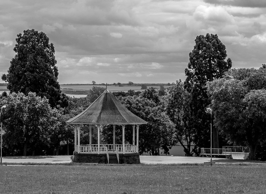 Bandstand, Westfield Road Park, Wellingborough, Northamptonshire Architecture Park Band Stand Monochrome Black And White FUJIFILM X-T10 Wellingborough Northamptonshire Architecture Fujifilmxt1