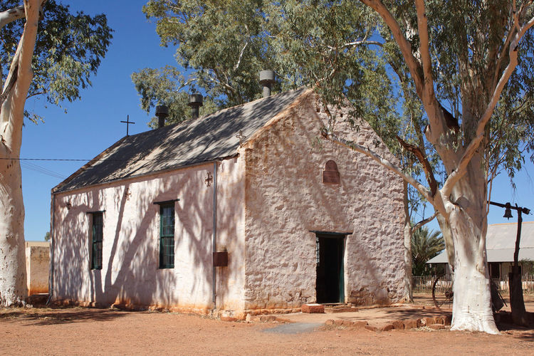 Old church of Hermannsburg, Northern Territory, Australia Ancient Architecture Australia Building Exterior Built Structure Church Down Under Hermannsburg No People Northern Territory Old Buildings Outback Outdoors Religion Rural Rural Scene Sights Sightseeing Tourist Attraction  Travel Travel Destinations Village