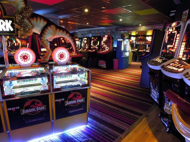 Arcade Games Luck Slot Machine Gambling Gaming Time