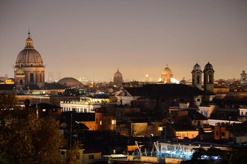 Rome nightscape.