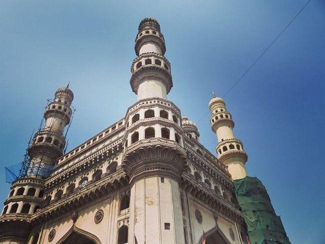 Charminar Historic Place Nizam Manmade Architecture Incredibleindia Hyderabad Talanga Panasonic  Fz200