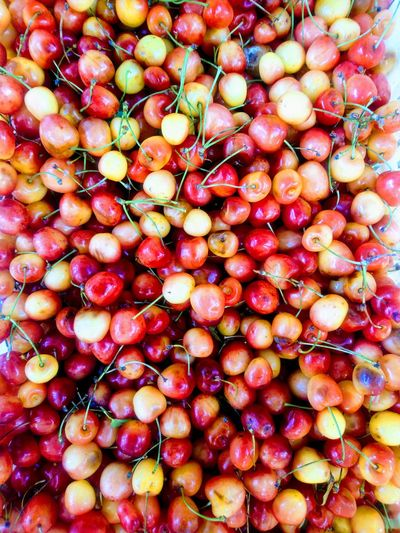 Sony Xperia Xa2 🍒cherries Cherry Cherries Fruit Backgrounds Full Frame Red Close-up Food And Drink Cherry Juicy Vitamin C Antioxidant Vitamin
