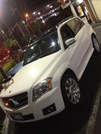 How do you like my new ride? Made an even swap with the manager from Mercedes Benz n i like the smooth ride