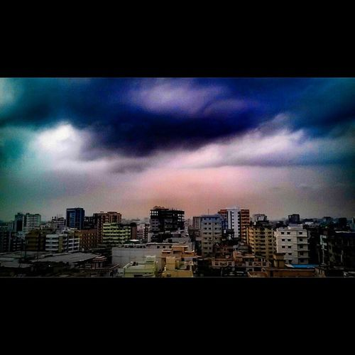 Photography MyClick Sky Clouds Afternoon City Dhaka Bangladesh BeautifulBANGLADESH Own_zone ...