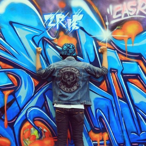 Helll yeahh ! ZRIE 73 fresh 2014 Graffiti Street Wall Casrcrew Zrie73 Motörhead Art