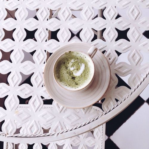 Matcha Matcha Latte Taking Photos From Above  From Where I Stand From My Point Of View Latte Minimalism Simplicity