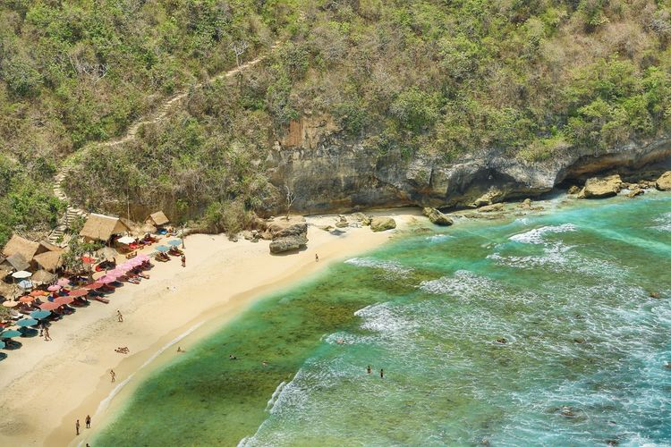 Atuh Beach in