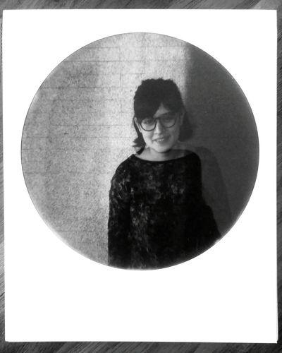 TheRaws ThisIsRaw Polaroid Black&white Portrait LaGaby
